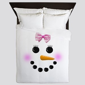 Snow Woman Queen Duvet