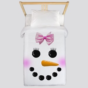Snow Woman Twin Duvet
