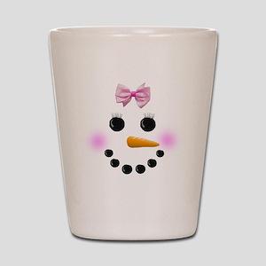 Snow Woman Shot Glass