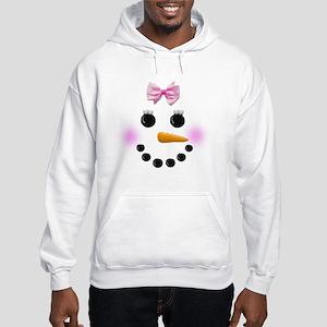 Snow Woman Hooded Sweatshirt