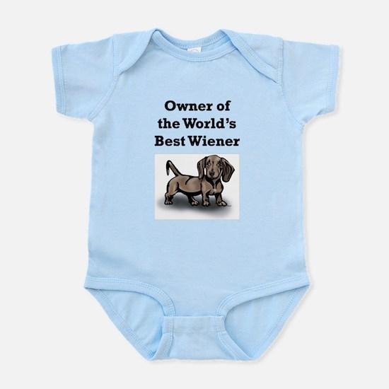 Worlds Best Wiener Infant Bodysuit