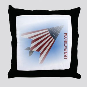 Stars and Strips Throw Pillow