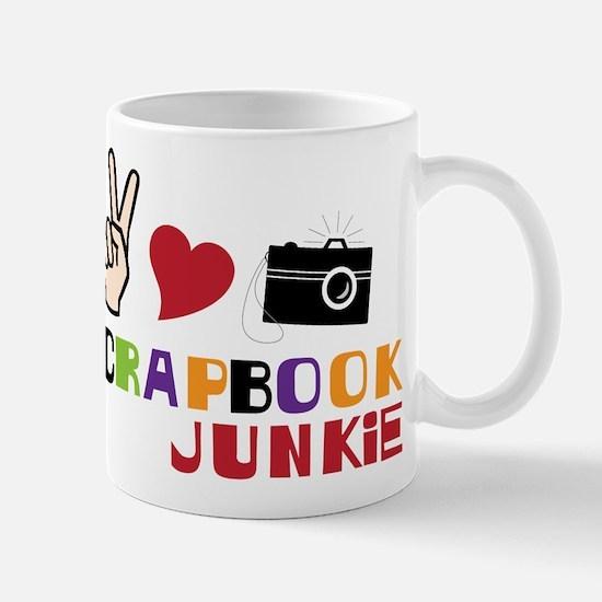 Scrapbook Junkie Mug