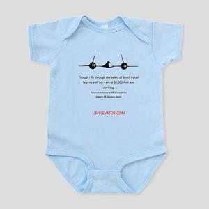 SR-71 Spy Plane Infant Bodysuit