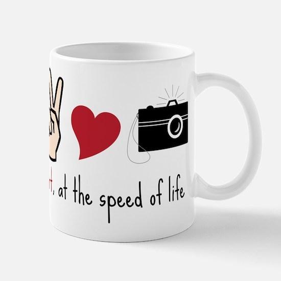 Speed Of Life Mug