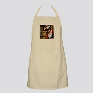 By the Fireplace Doxies Apron