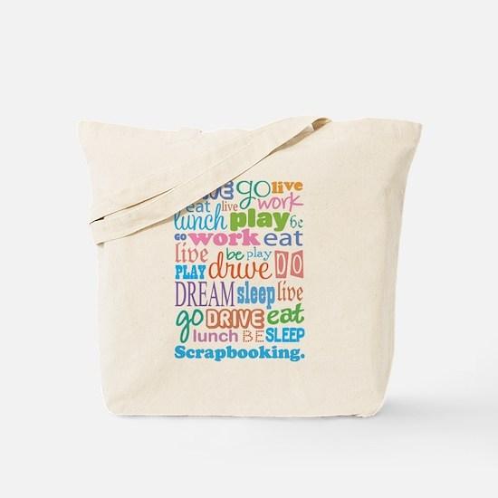 Scrapbooker Tote Bag