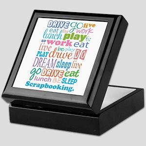 Scrapbooker Keepsake Box