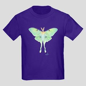 Luna Moth Kids Dark T-Shirt