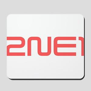 2NE1 red logo Mousepad
