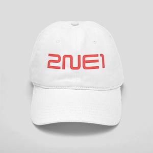 2NE1 red logo Cap