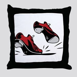 Tap Dancing Shoes Throw Pillow
