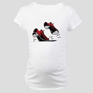 Tap Dancing Shoes Maternity T-Shirt