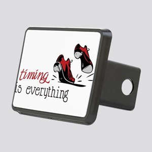 Timing Is Everything Rectangular Hitch Cover