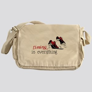 Timing Is Everything Messenger Bag