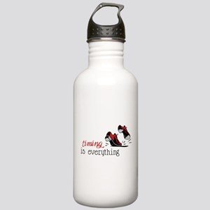 Timing Is Everything Stainless Water Bottle 1.0L