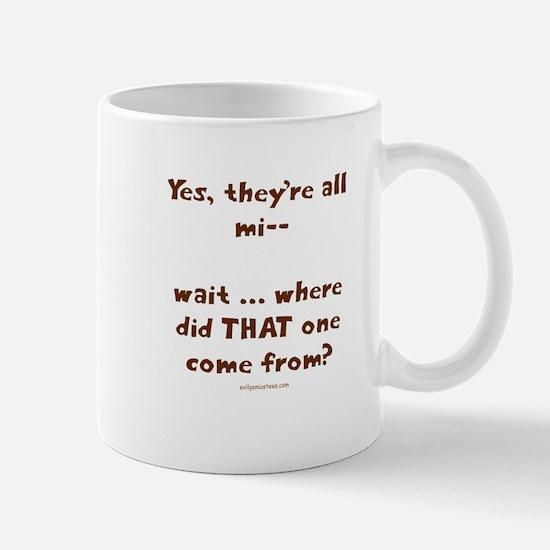 strangekid Mugs