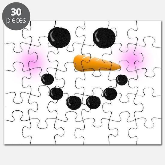 Snowman Face Puzzle