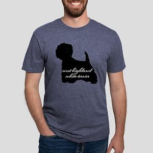 westhighlandwhiteterrier.pn Mens Tri-blend T-Shirt
