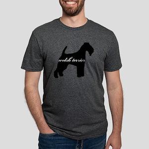 welshterrier Mens Tri-blend T-Shirt