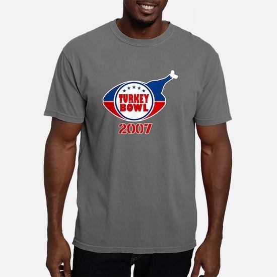 Turkey Bowl 2007 Mens Comfort Colors Shirt