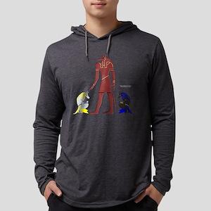Spectral Anubis Mens Hooded Shirt