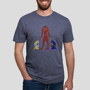 Spectral Anubis Mens Tri-blend T-Shirt