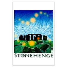 Stonehenge Large Poster