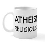 Atheism Cures Religious Terrorism Mug