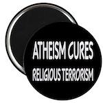 Atheism Cures Religious Terrorism Magnet
