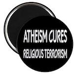 "Atheism Cures Religious Terrorism 2.25"" Magne"