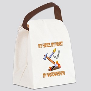 Woodworking Canvas Lunch Bag
