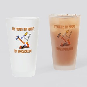 Woodworking Drinking Glass