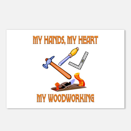 Woodworking Postcards (Package of 8)