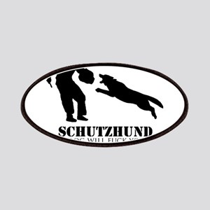 Schutzhund - My dog will fuck you up! Patches