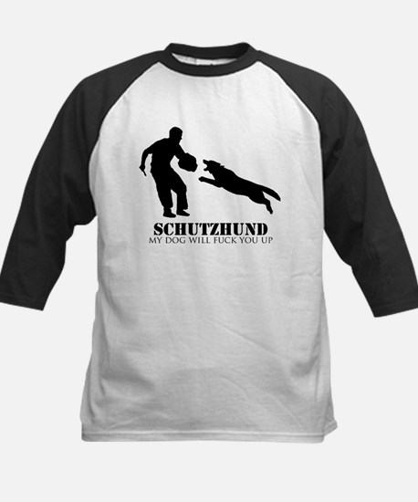 Schutzhund - My dog will fuck you up! Tee