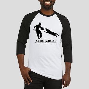 Schutzhund - My dog will fuck you up! Baseball Jer