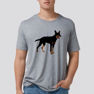 Australian Kelpie Mens Tri-blend T-Shirt