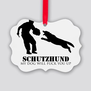 Schutzhund - My dog will fuck you up! Picture Orna