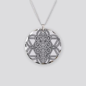 Unity Consciousness Necklace Circle Charm