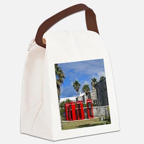 Royal Naval Dockyard Canvas Lunch Bag
