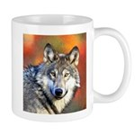Wolf Art Painting Mug