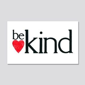Be kind 20x12 Wall Decal
