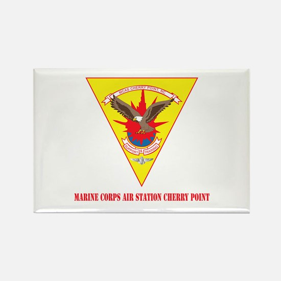 Marine Corps Air Station Cherry Point with Text Re