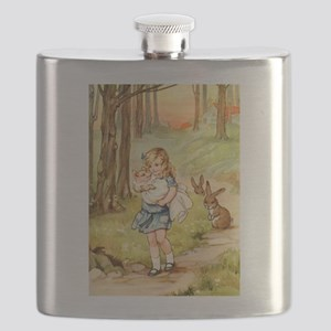 Alice and the Pig Baby Flask