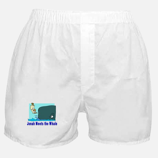Jonah and the Whale Boxer Shorts