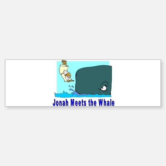 Jonah and the Whale Bumper Bumper Bumper Sticker