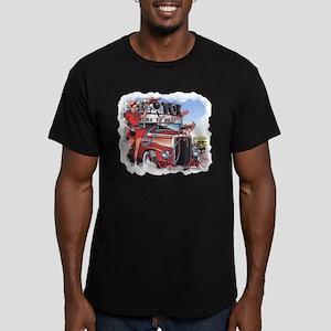 Fabulous Fifties Drive Inn Men's Fitted T-Shirt (d
