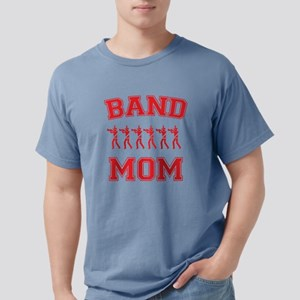 band mom red Mens Comfort Colors Shirt