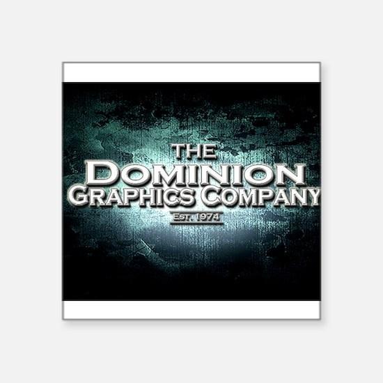 "DMGINC Square Sticker 3"" x 3"""